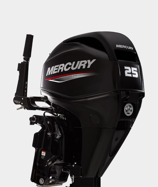 Mercury Fourstroke 25 hk Jungfrusunds Marinservice