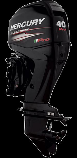 Mercury FourStroke 40 pro hk Jungfrusunds Marinservice