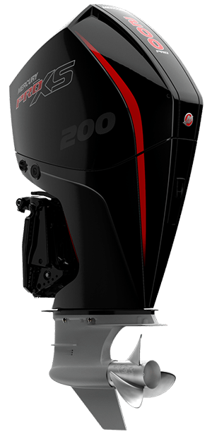 Mercury ProXs 200 hk Jungfrusunds Marinservice