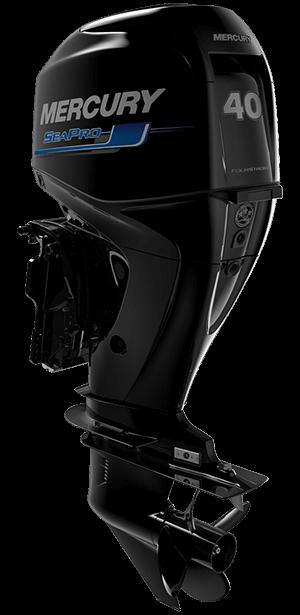 Mercury SeaPro 40 hk Jungfrusunds Marinservice