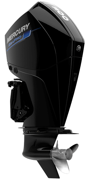 Mercury SeaPro 300 hk cms Jungfrusunds Marinservice